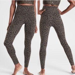 Athleta Leopard Elation Legging